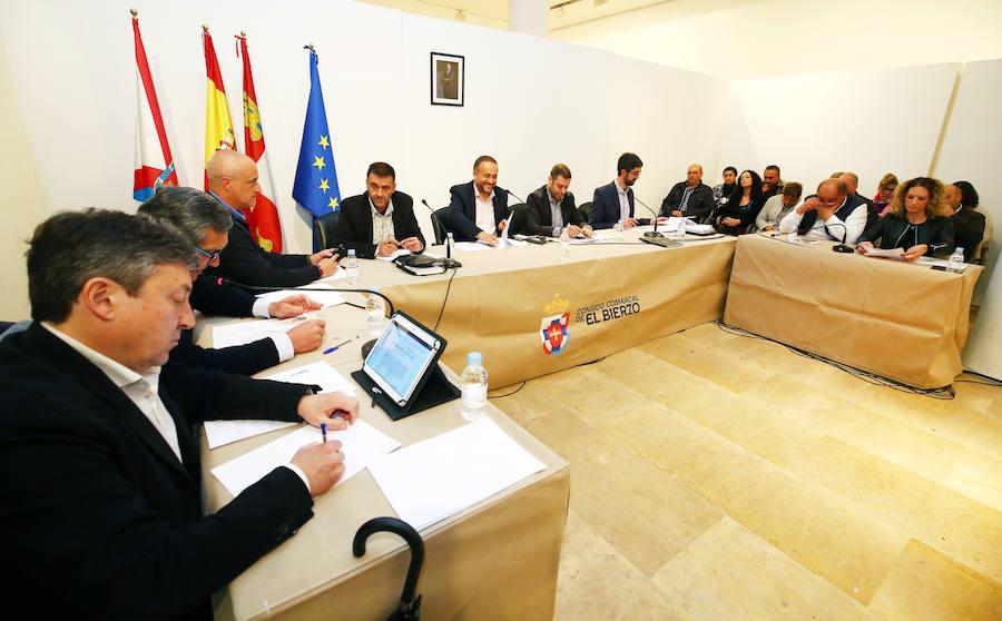 Pleno extraordinario del Consejo Comarcal del Bierzo