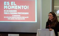 La leonesa Silvia Fernández, elegida al frente de la nueva ejecutiva estatal de CCOO Prisiones