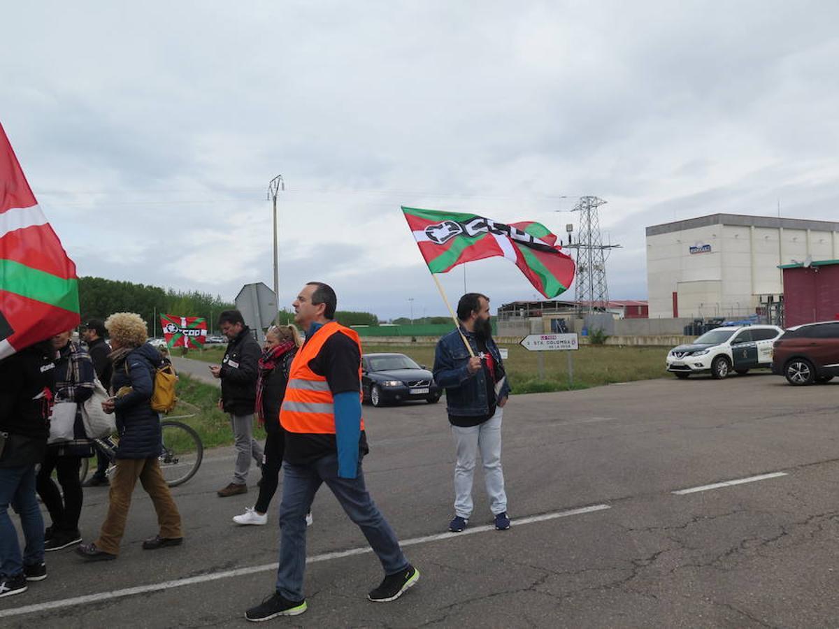 Manifestación en Embutidos Rodríguez