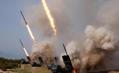 Corea del Norte dispara nuevos proyectiles cinco días después de su último desafío