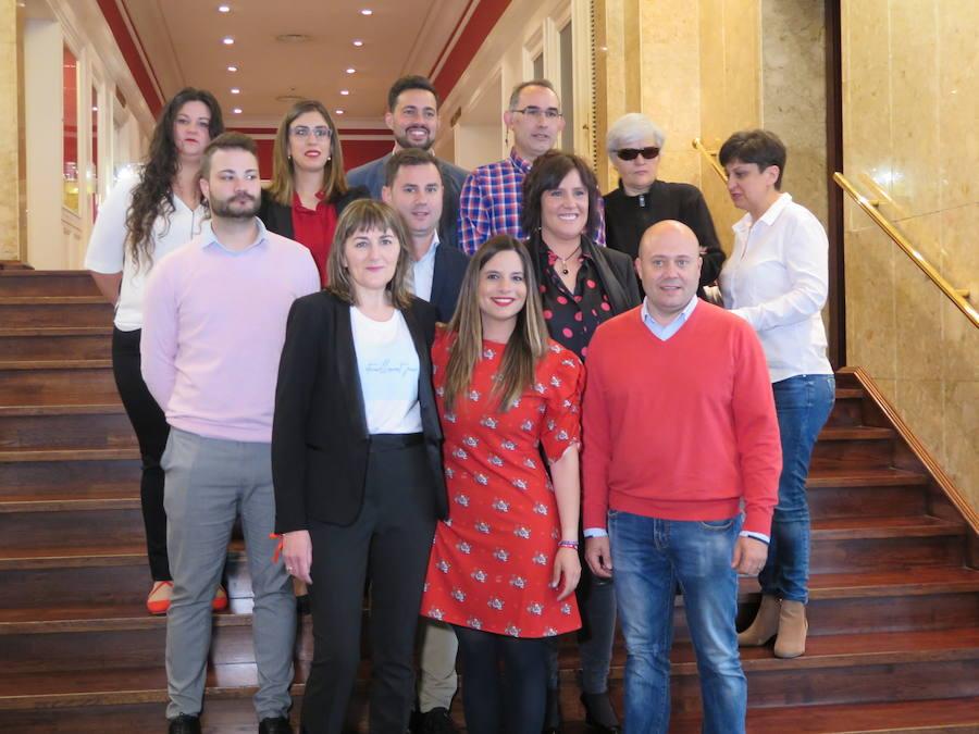 Presentación de la candidatura del PSOE de León a las Cortes de Castilla y León