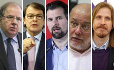 Los políticos de Castilla y León expresan sus condolencias por la muerte de Pérez Rubalcaba