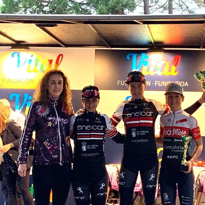 Primera victoria del Eneicat Pecafer en la Vuelta a Álava