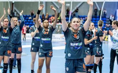 Mireya González, campeona de la EHF Cup con el Siofok