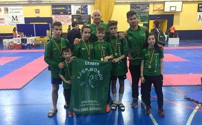 Éxito leonés en el Campeonato de Castilla y León de Taekwondo de La Robla