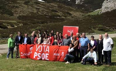 Nuria Rubio preside la presentación de los candidatos del PSOE en el Curueño