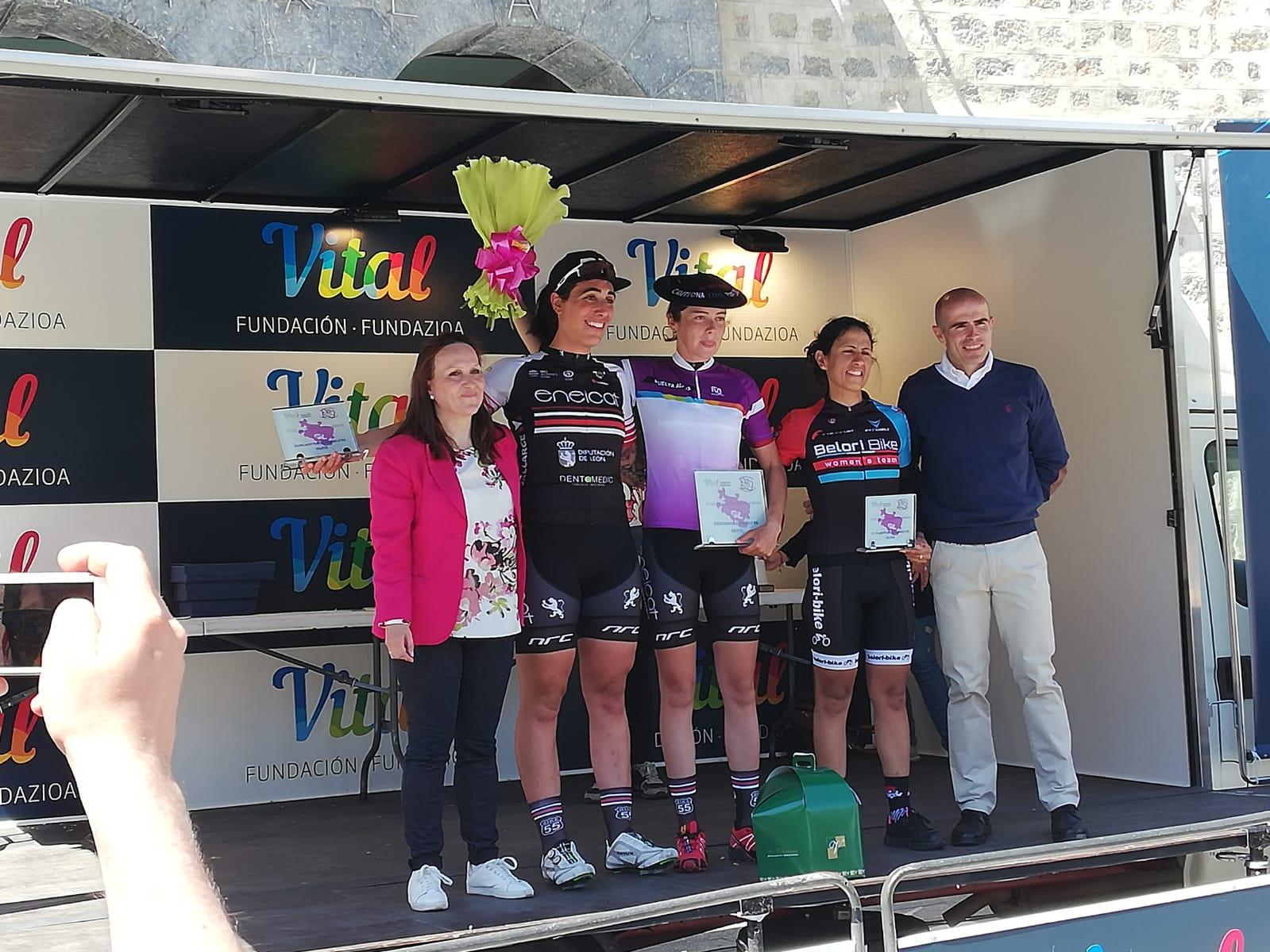 Victoria en la tercera etapa de la Vuelta a Álava del Eneicat Pecafer