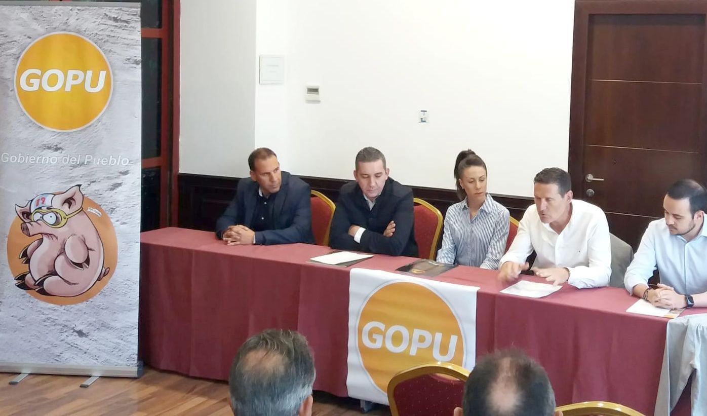 GOPU se presenta en León con diez propuestas 'clave' para remodelar la ciudad