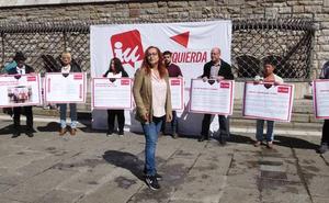 Feminismo, empleo digno y una revolución en la movilidad, ejes del programa de IU para León
