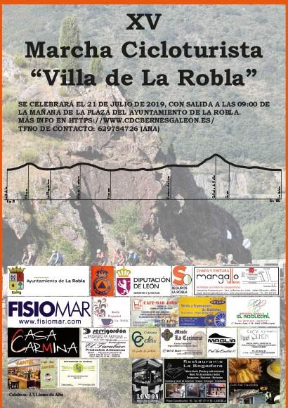 El CC Bernesga organiza al XV Marcha Cicloturismo Villa de la Robla