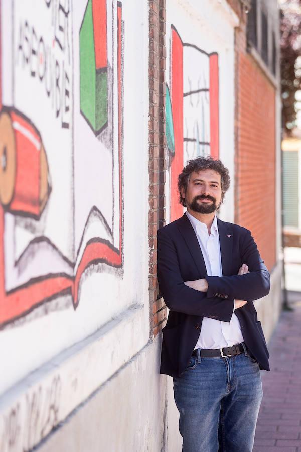 El candidato a la Presidencia de la Junta de Castilla y León por CyL en Marcha, José Sarrión
