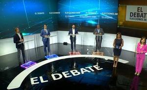 Todos contra Mañueco en un debate con empleo y despoblación como telón de fondo