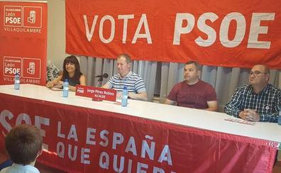Jorge Pérez Robles destaca el enorme potencial del municipio de Villaquilambre