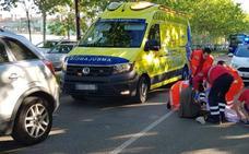 Herida una niña de 11 años en un atropello a la puerta de un colegio de Valladolid
