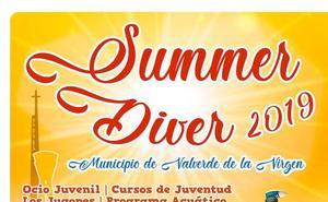 Valverde la Virgen presenta un verano diferente con 'Summer Diver 2019'
