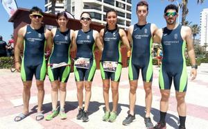 Octavo puesto para la ULE en el Campeonato de España de triatlón