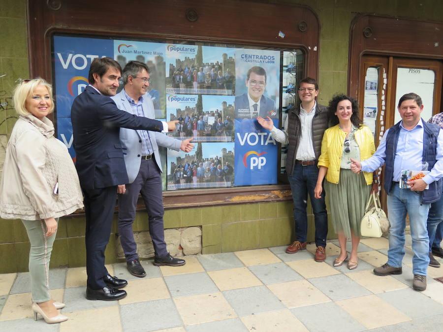 Mañueco visita la provincia de León