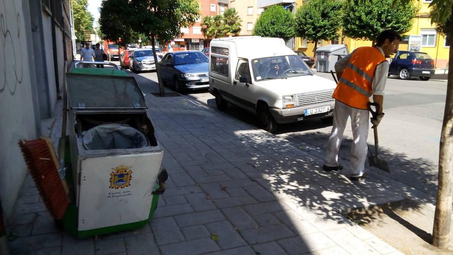 El PSOE de Ponferrada opta por la gestión directa del servicio de recogida de basuras, limpieza viaria y mantenimiento de zonas verdes