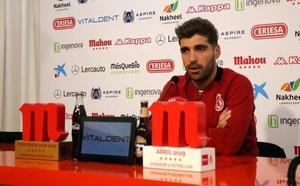 Iván González: «Estoy a gusto aquí, cómodo y querido por la gente»
