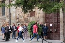 Capilla ardiente del obispo de Astorga