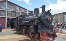 El encendido de la locomotora PV31 de la MSP centra las celebraciones del Día internacional de los Museos en Ponferrada