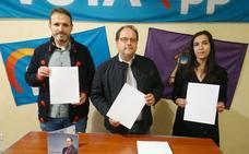 El PP presenta en La Bañeza su programa en braille y lengua de signos