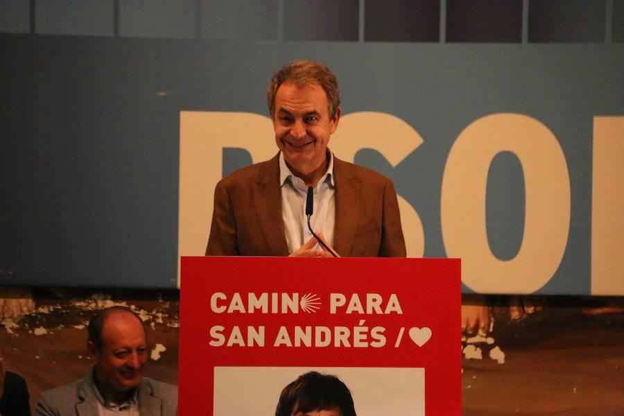 Mitin de Zapatero en Pinilla