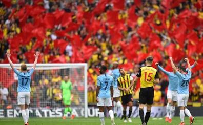 El City arrolla al Watford y conquista el histórico triplete en Inglaterra