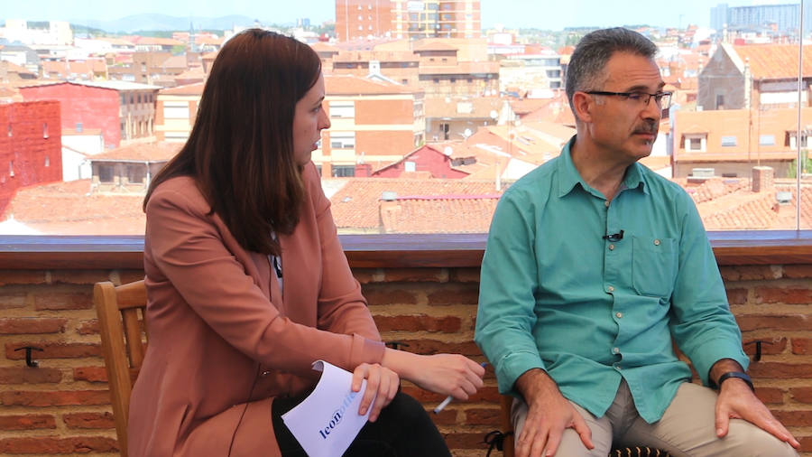 Nicanor Pastrana (Podemos-Equo) en las entrevistas de leonoticias