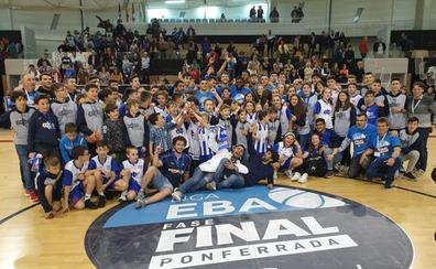 Histórico ascenso del Ciudad de Ponferrada a LEB Plata