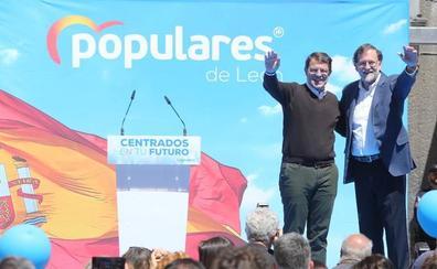 Mañueco: «A los palmeros de Sánchez y a su caballo de troya vamos a decirles que no en Castilla y León»