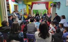 Los grupos de infancia y adolescencia de Auryn dialogan con los candidatos a la Alcaldía de León