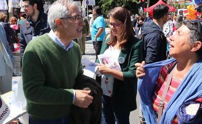 Gaspar Llamazares apuesta por acabar con la austeridad en Europa como garantía de una transición justa en León