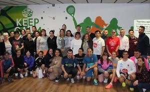 El V torneo de pádel solidario de Alfaem Salud Mental concluye con gran éxito de participación