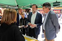 Rajoy visita León en un acto de campaña electoral