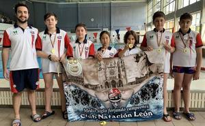 El CN León debuta en el I Torneo Alevín San Pedro Regalado de waterpolo
