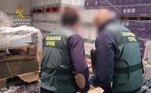 Desarticulada una banda dedicada al embotellado y venta de vino de manera masiva y fraudulenta en León