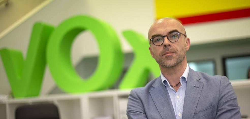 Jorge Buxadé: «El PP y el PSOE no defienden en la UE los intereses de España»