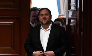 Junqueras ve un «atentado» investir a Sánchez a partir de la suspensión de los presos