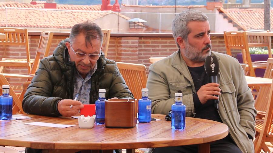 Eduardo López Sendino en los encuentros de leonoticias