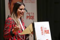 El ministro de Fomento, José Luis Ábalos, en un acto público en León