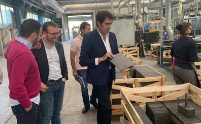 Suárez-Quiñones garantiza el apoyo del PP al sector pizarrero leonés