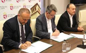 Diputación y Consejo Comarcal de El Bierzo aportan 112.500 euros para apoyar el Banco de Tierras
