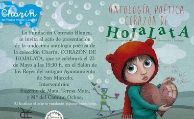 La Fundación Conrado Blanco presenta su Antología Poética Corazón de Hojalata