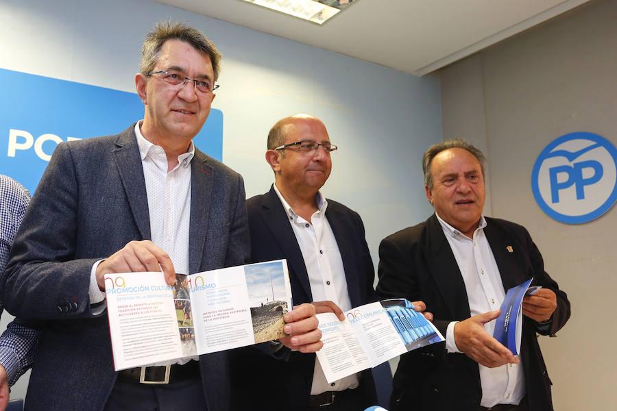 Presentación del programa electoral del PP para la Diputación de León
