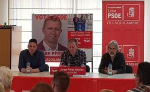 Jorge Pérez destaca a los «jóvenes» como el «futuro» de Villaquilambre