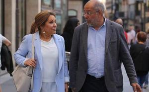 Rosa Valdeón reaparece en Zamora para mostrar su apoyo expreso a Francisco Igea