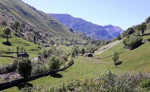 Valles pasiegos, verdor infinito en el interior de Cantabria