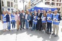 La candidatura del PP y Antonio Silván cierran la campaña en Ordoño II