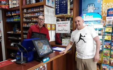 Un único boleto acertante de primera categoría en el sorteo de la Bonoloto deja un premio de casi 283.000 euros en León